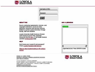flagship.luc.edu screenshot