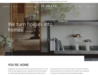 flamant.com screenshot