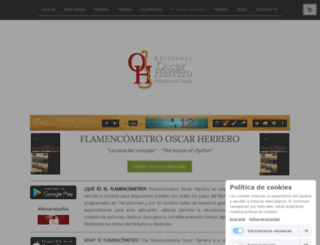 flamencometro.com screenshot