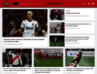 flamengorj.com.br screenshot