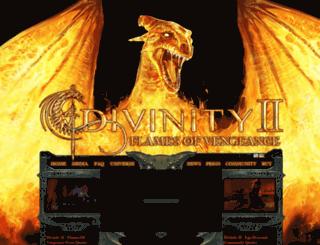 flamesofvengeance.com screenshot