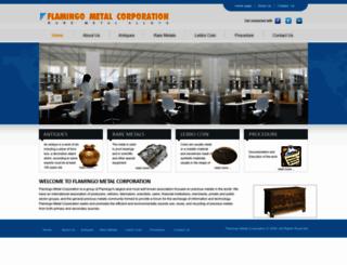 flamingometalcorporation.com screenshot