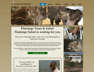 flamingosafari.com screenshot