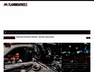 flamingwheels.pl screenshot
