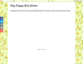 flappybird7.blogspot.in screenshot