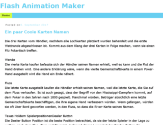 flash-animation-maker.com screenshot