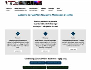 flashalertnewswire.net screenshot