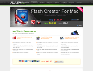 flashconverterformac.com screenshot