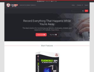 flashcrest.com screenshot