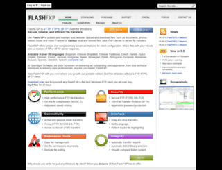 flashfxp.net screenshot