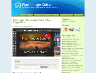 flashimageeditor.com screenshot