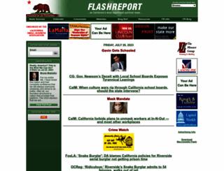 flashreport.org screenshot