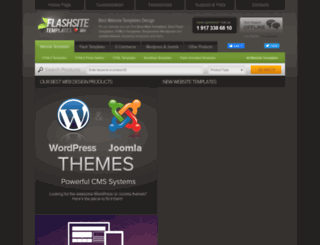 flashsite-templates.com screenshot