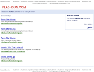 flashsun.com screenshot