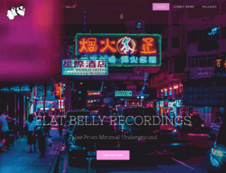 flatbellyrecordings.com screenshot