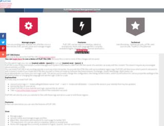 flatcms.nl screenshot