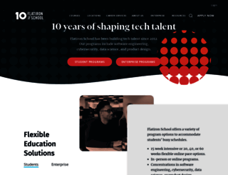 flatironschool.com screenshot
