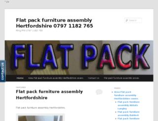 flatpackhertfordshire.co.uk screenshot