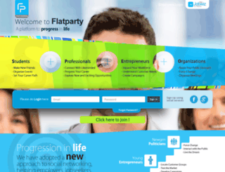 flatparty.com screenshot