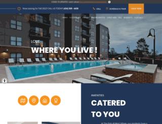 flatsatwestvillage.com screenshot