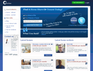 flatshare.timeout.com screenshot