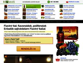 flavin.biomax.hu screenshot