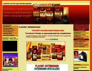 flavin7-termekpatika.hu screenshot