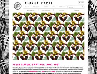 flavorpaper.com screenshot