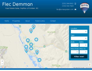 flecdemmon.ca screenshot