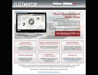 fleetmentor.com screenshot