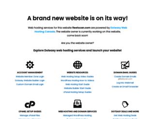 fleetscan.com screenshot