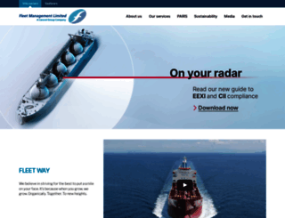 fleetship.com screenshot