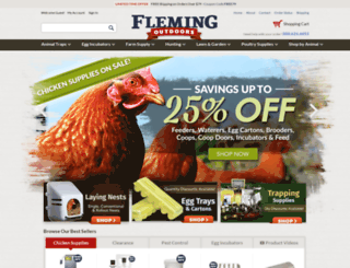 flemingoutdoors.com screenshot
