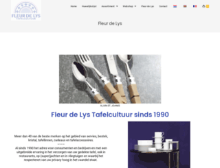 fleurdelys.nl screenshot