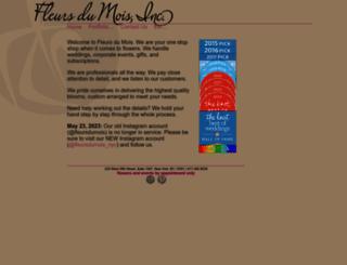 fleursdumois.com screenshot