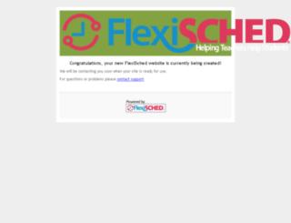 flex.flexisched.net screenshot