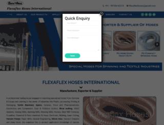 flexaflexhoses.com screenshot