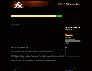 flexexamples.blogspot.com screenshot