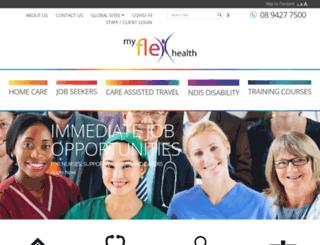 flexhealth.com.au screenshot
