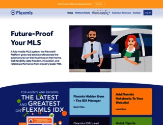 flexmls.com screenshot