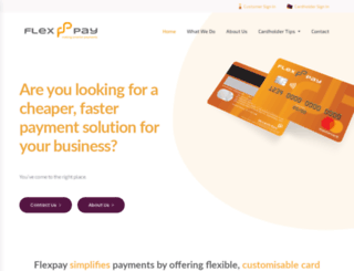 flexpay.co.za screenshot