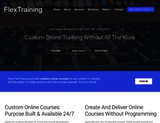 flextraining.com screenshot