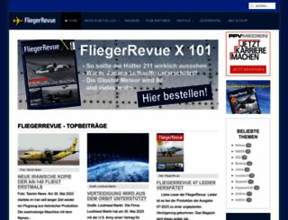 fliegerrevue.de screenshot