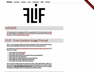 flif.info screenshot