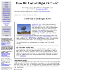 flight93crash.com screenshot