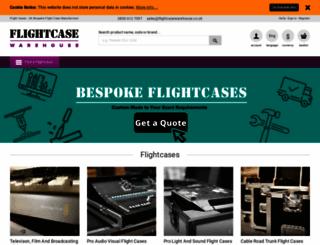 flightcasewarehouse.co.uk screenshot