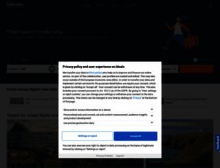 flights-idealo.co.uk screenshot