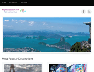 flightspassport.com screenshot