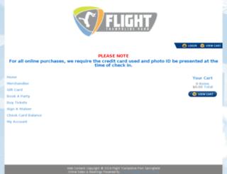flightspringfield.pfestore.com screenshot