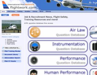 flightwork.com screenshot